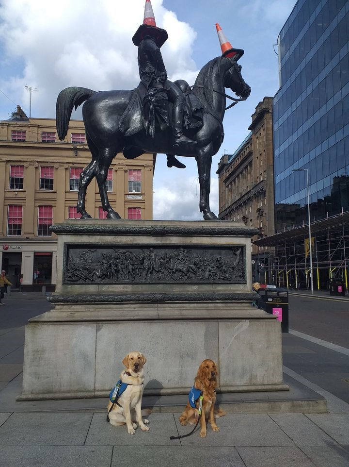 Gallus Guide Dugs at Glasgow Gin